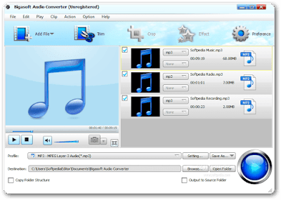 Bigasoft Audio Converter Serial Key