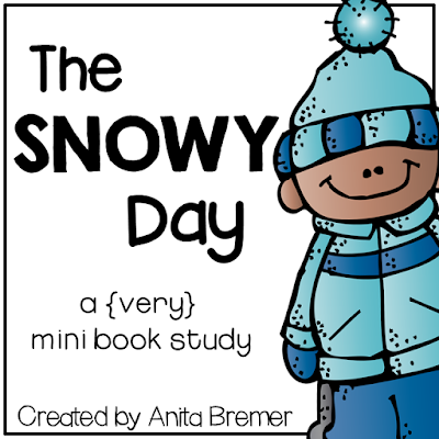 FREE Book activities to go with The Snowy Day