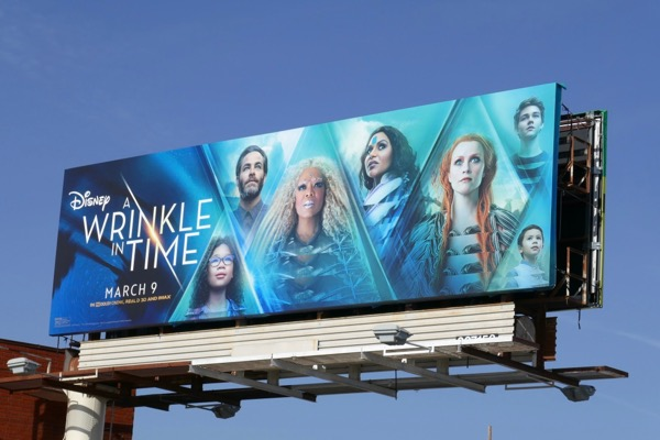 Wrinkle in Time movie billboard
