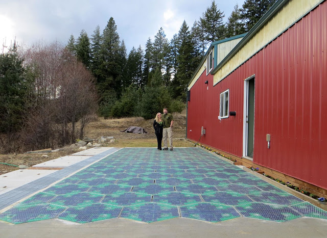 The first US solar road has been a real disaster