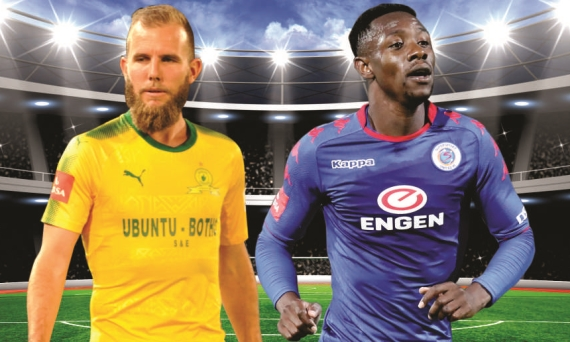 Sundowns & SuperSport do battle once again, with Jeremy Brockie facing his former side for the first time.