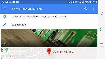 kosty putri arinda Tempat Kost Terdekat Kampus IAIN Metro Dan Um Metro