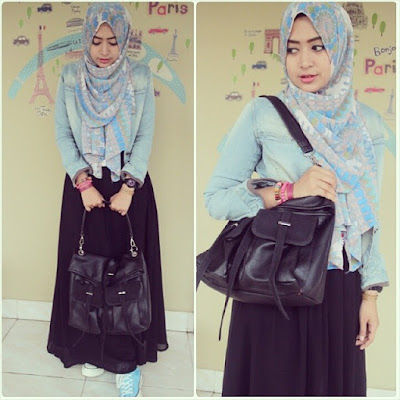 fashion hijab anak kampus