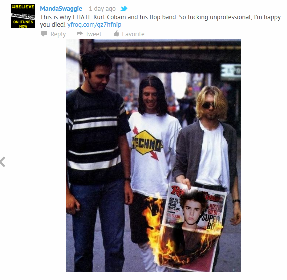Wtf Shes Declaring That Shes Happy Kurt Cobain Died -8014