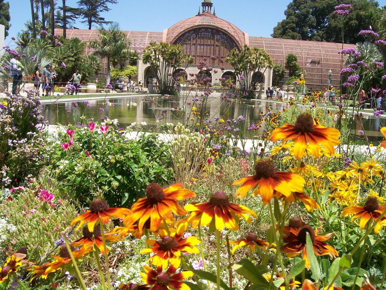 Intuitive Value San Diego Vacation Balboa Park Botanical Bldg Gardens