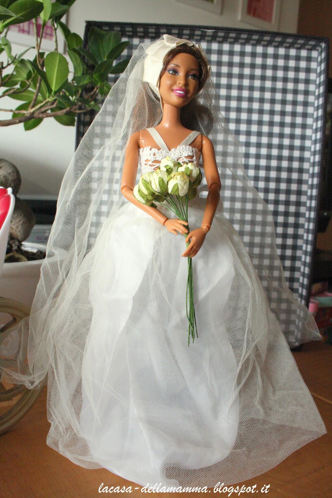La Casa Della Mamma Abito Da Sposa Per Barbie