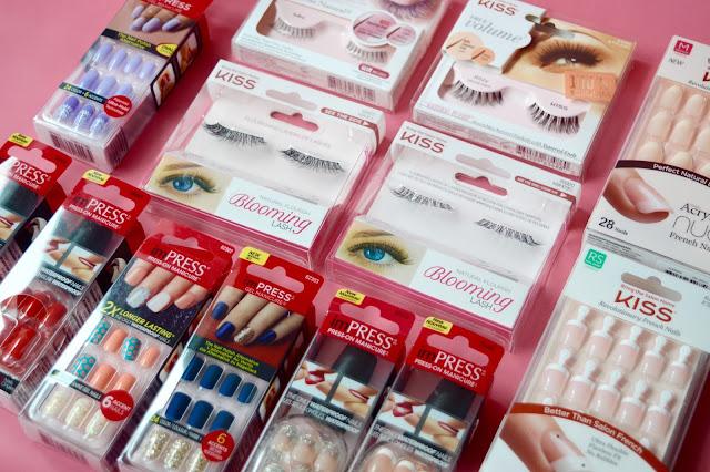 Kiss eyelash and nails