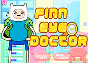Hora de aventura Finn eyes Doctor