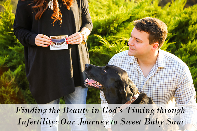 infertility story, national infertility awareness week, christian blog, christian blogger, infertility, amanda sumner, the girlish blog, girlish, sweet baby sam, pregnancy