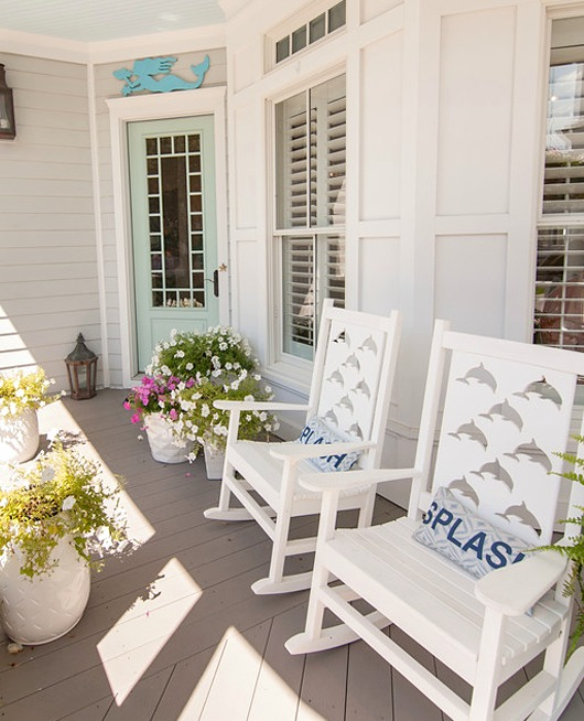Coastal Porch Rocking Chairs