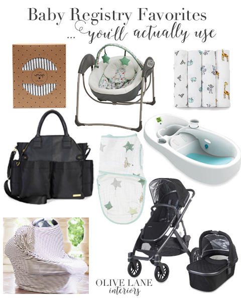 Must Have Baby Registry Items Shopping List