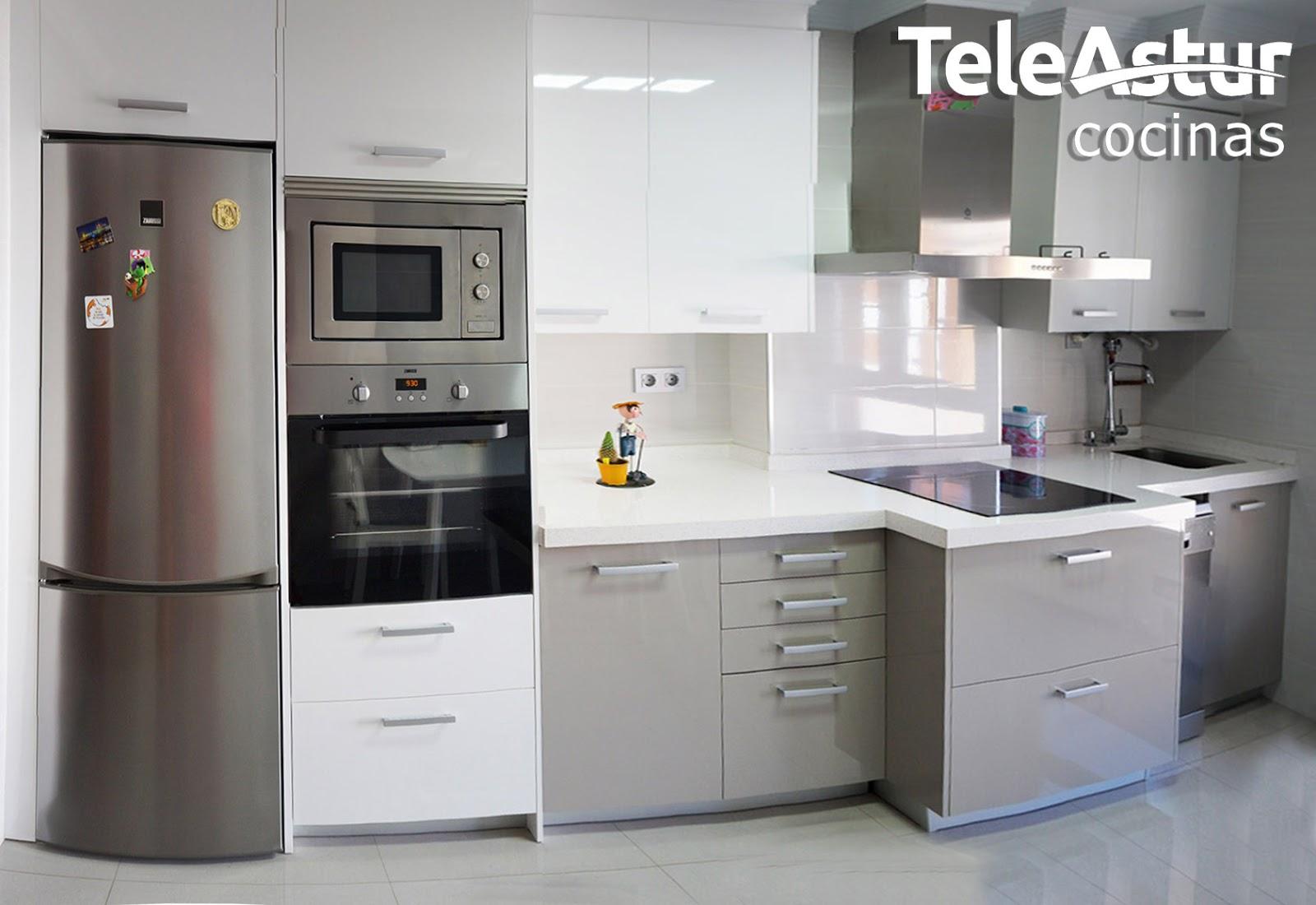 Teleastur muebles de cocina reformas oviedo aviles for Muebles de cocina en oviedo