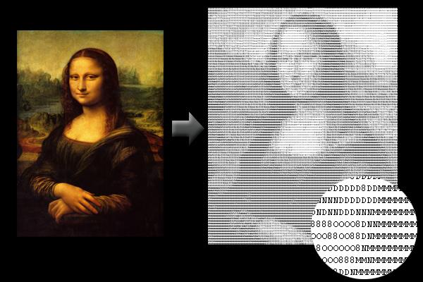 Convertidor Imagenes en Ascii o Html