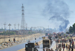 Kurds' Retreat from Kirkuk
