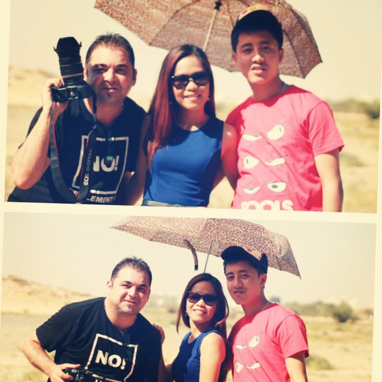 Making friends from various cultures in Muscat. Picture: Nischal Gurung