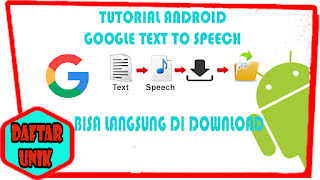 Text to voice Android