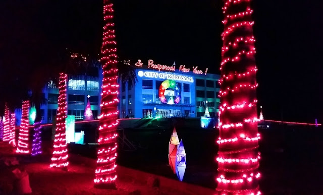Christmas decors at Koronadal City Hall