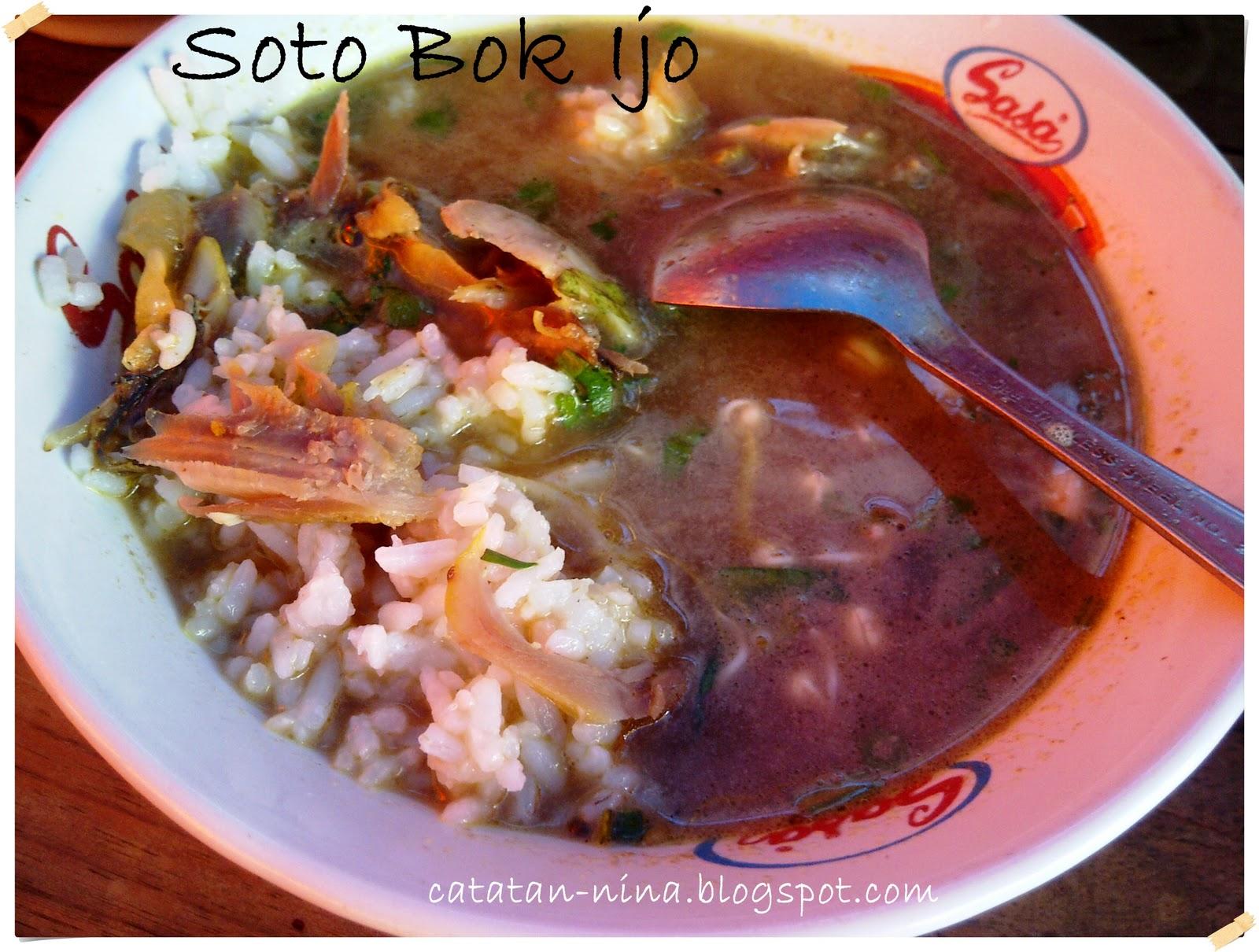 Tips Soto Bok Ijo Legenda Kuliner Kediri