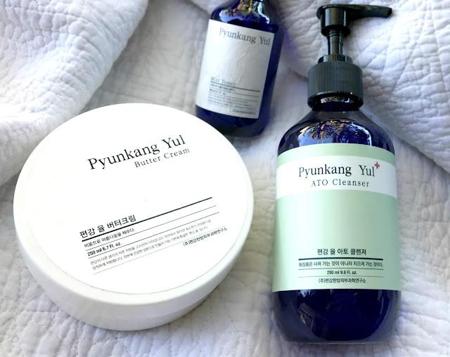 Pyunkang Yul: ATO Cleanser & Butter Cream,dos aliados para piel atópica (o muy seca).