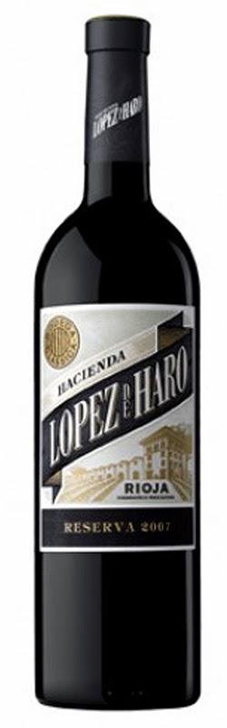 VINO TINTO HACIENDA LÓPEZ HARO RESERVA 2007