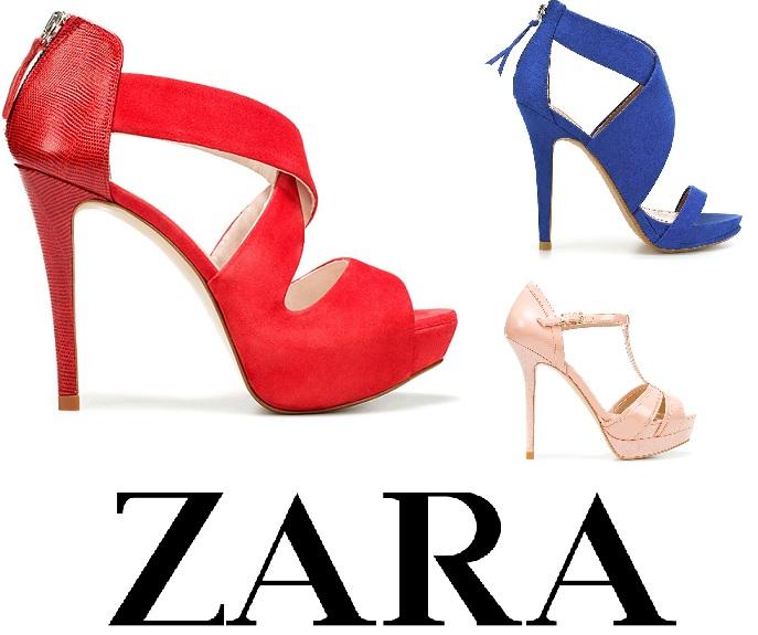 ZARA   Νέες αφίξεις Παπούτσια Άνοιξη Καλοκαίρι 2012 4a01bc1a623