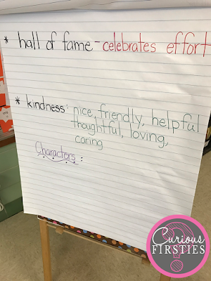 Encourage an inviting classroom environment with reading rituals.