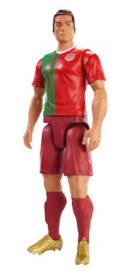 TOYS : JUGUETES - FC Elite Cristiano Ronaldo : Figura - Muñeco 30 cm Producto Oficial 2016 | Mattel DYK83 | A partir de 3 años Comprar en Amazon España