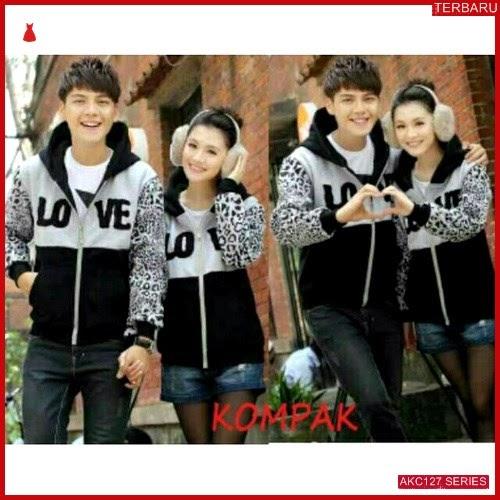AKC127J50 Jaket Couple Pasangan Anak 127J50 Pasangan Love BMGShop