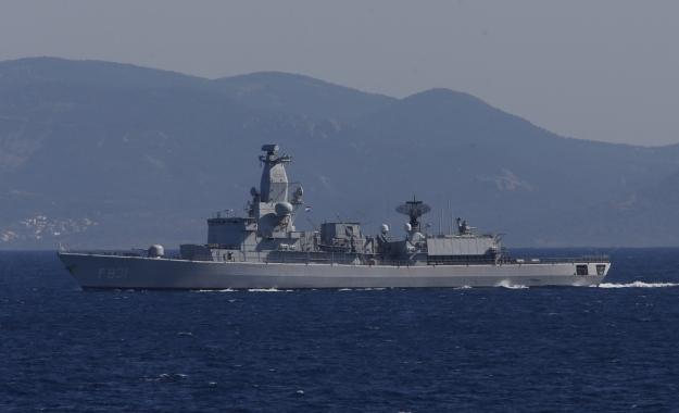 Η Τουρκία έθεσε σε επιφυλακή πολεμικά πλοία στο Αιγαίο