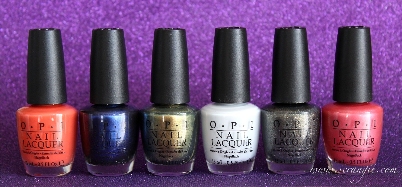 Scrangie: OPI The Amazing Spider-Man Collection Summer 2012 Swatches