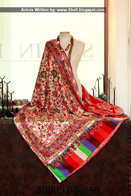 Royal Embroidered Shawls