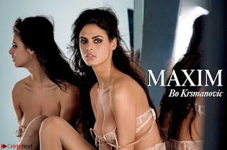 Bojana Krsmanovi in Maxim Magazine Pictureshoot April 2017 2 huge  ~ celebs.in