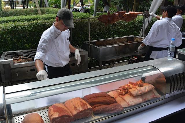 Indigo Pearl Phuket meat grill