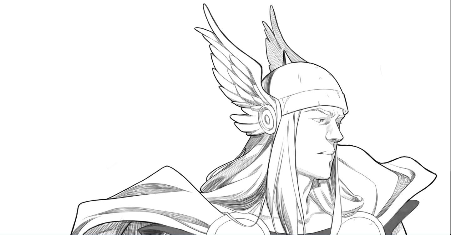easy thor drawings - photo #23