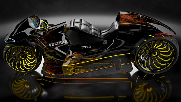 See The New Vultran Type 3 Electric Concept Motorcycle Which Was Inspired By Porsche And Lamborghini Autoreportng
