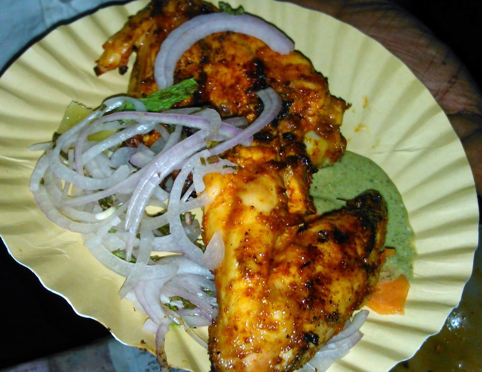 Chicken BBQ kabab at Shekar KPHB