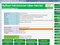 Download Aplikasi Administrasi Ujian Sekolah 2017 Format Excel