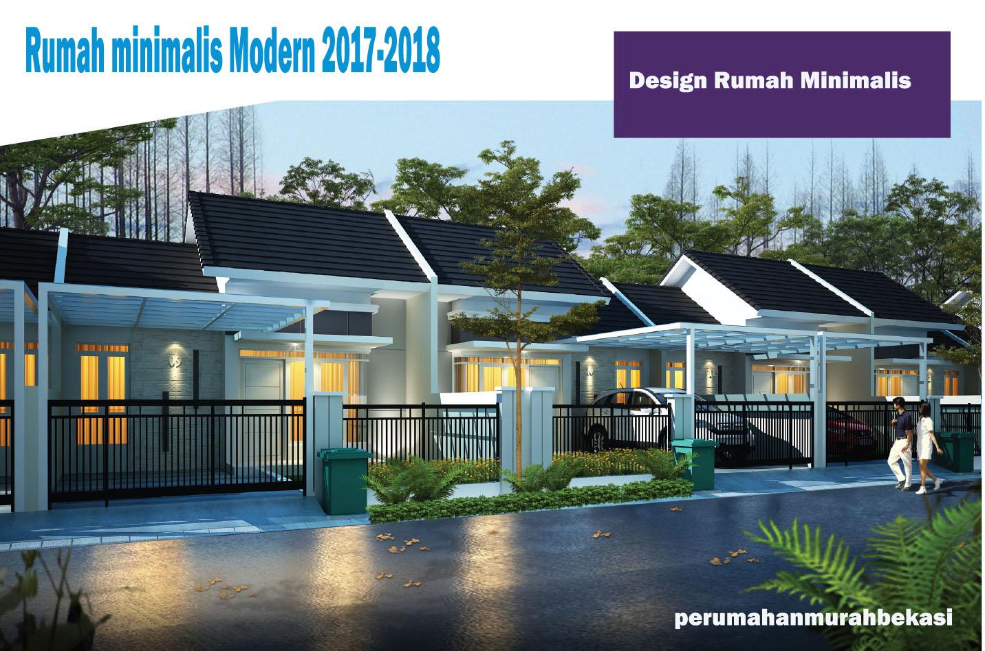 Design Rumah Minimalis Modern Terbaik 2017 2018 Inspirasi Rumah