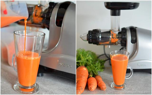 Wyciskarka Byzoo Rhino do owoców, warzyw i ziół - test