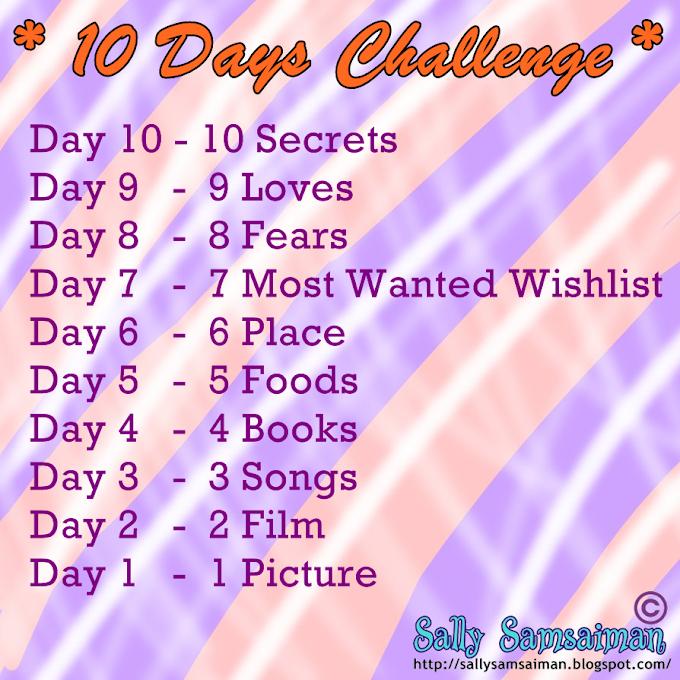 Mampu ke nak 10 Days Challenge?