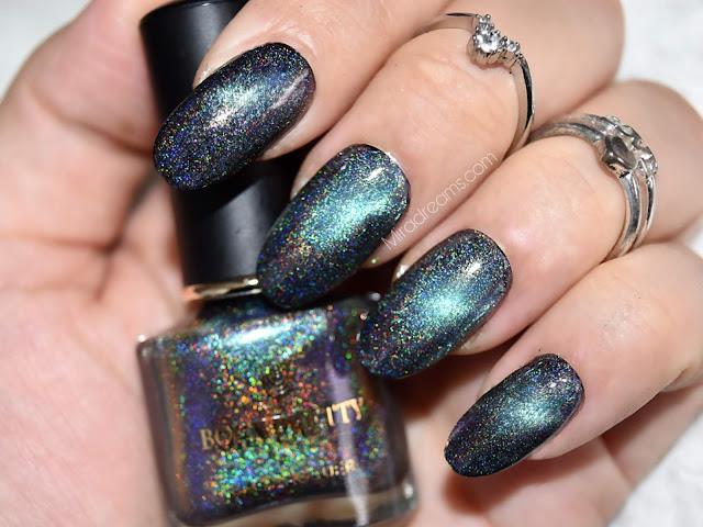 Bornprettystore Magic Nail Polish Shining Glitter Sequin Nail Art #42848