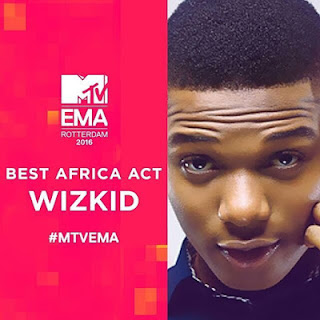 We 'Wrongly' Awarded 'Best Africa Male' To Wizkid At EMA's - Says MTV