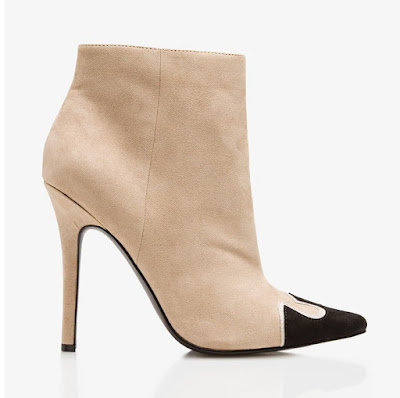 Cute and affordable shoes Forever 21 two tone booties