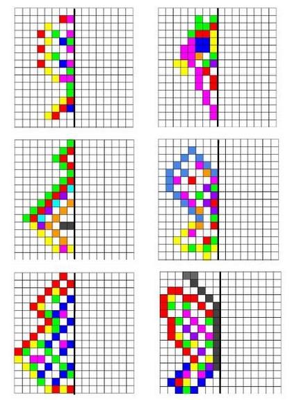 Exceptionnel Remue Méninge: Symétrie en pixels NM74