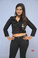 Neha Deshpandey in Black Jeans and Crop Top Cute Pics Must see ~  Exclusive Galleries 009.jpg