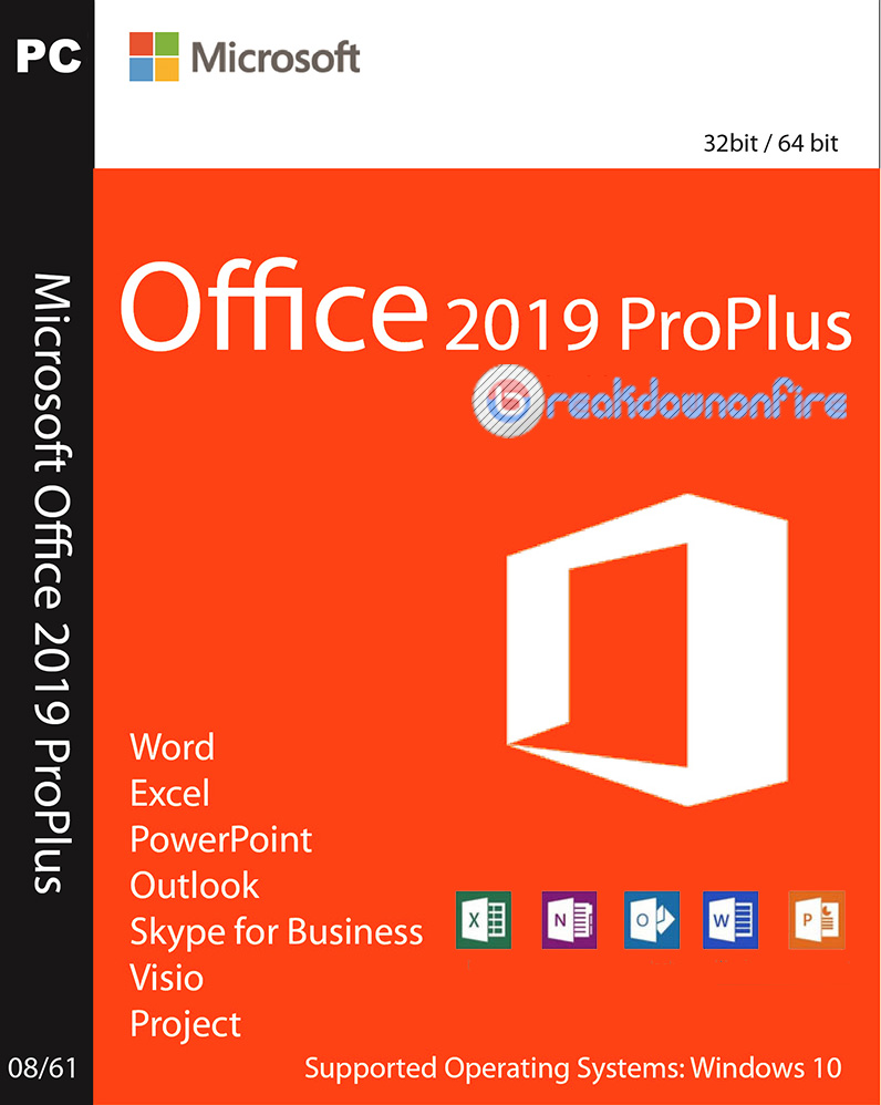 Microsoft Office 2019 Professional Plus iso