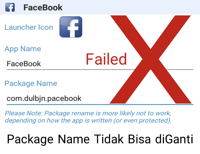 Cara Kenapa Package Name di Apk Editor Tidak Bisa diGanti