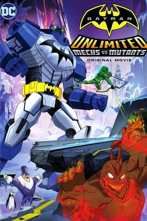Poster Batman Unlimited: Mech vs. Mutants 2016