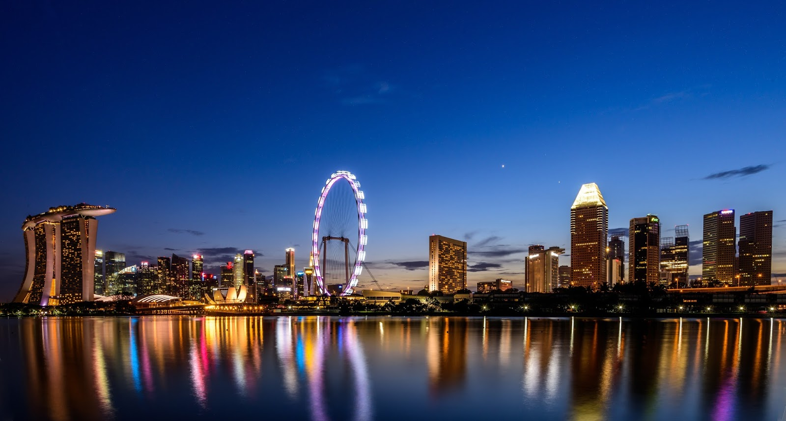 Singapore Cityscape Photography wallpaper