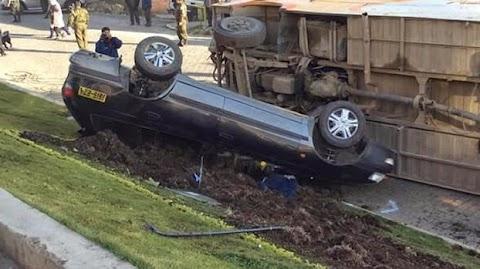 Hay 18.400 accidentes por año en La Paz